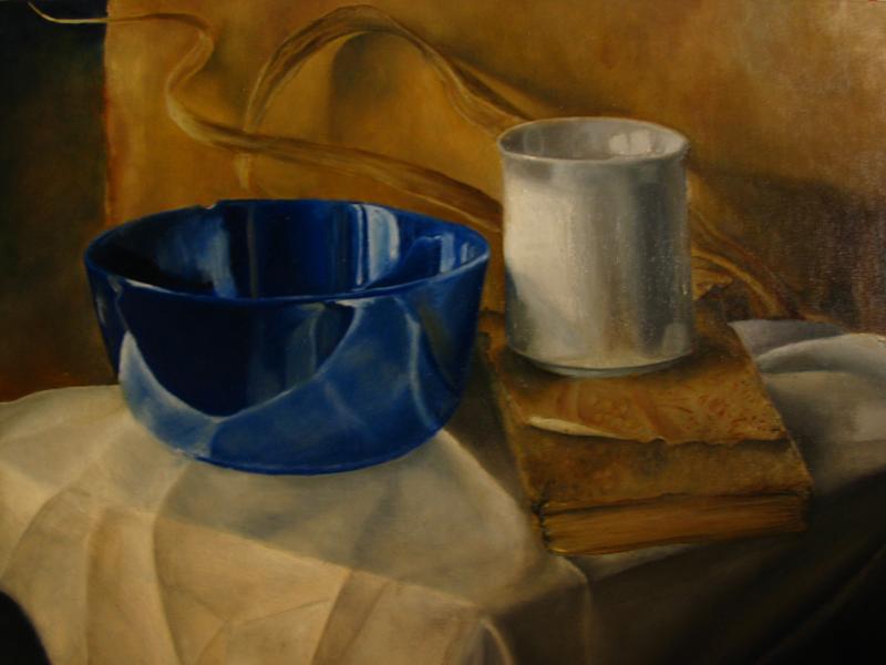 la tazza blu